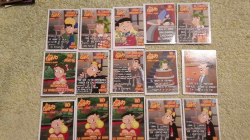 mc dougal cards el chavo iron man pitufos hey arnold