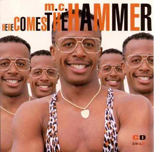 mc hammer here comes the hammer cd single importado ed 1990