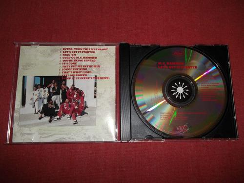 mc hammer - let´s get it started cd usa ed 1988 mdisk
