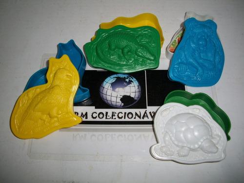 mc lanche feliz 1999 - animais em extinção rm colecionaveis