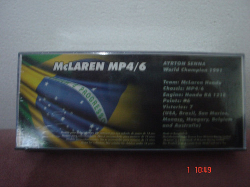 mc laren mp4/6 f1 ayrton senna1991gp germany ixo 1/43