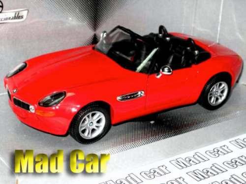 mc mad car 1/24 welly bmw z8 auto coleccion escala