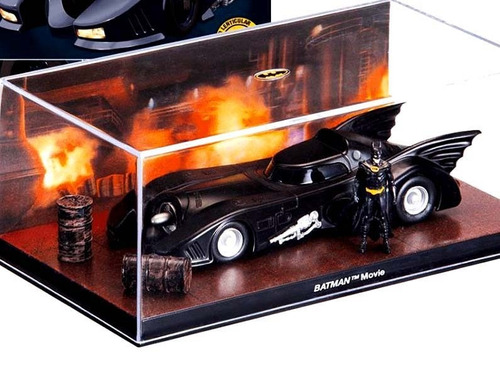 mc mad car batman batmobile 1/43 automobilia coleccion 21
