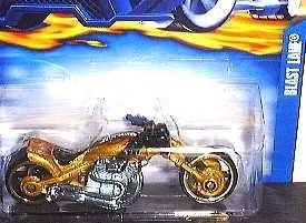 mc mad car hot wheels blast lane moto hw 2003 1/64 coleccion