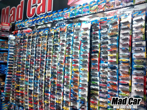 mc mad car hot wheels quad rod moto hw 2017 1/64 coleccion