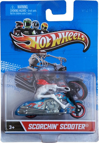 mc mad car hot wheels scorchin scooter moto coleccion hw
