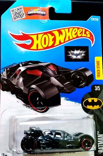 mc mad car hot wheels tumbler batmobile batman auto 2016