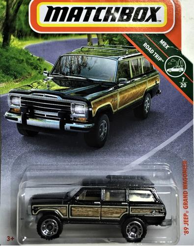 mc mad car matchbox 89 jeep grand wagoneer auto coleccion