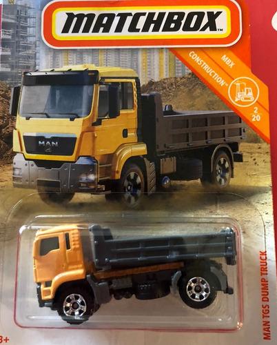 mc mad car matchbox man tgs dump truck camion coleccion mbx