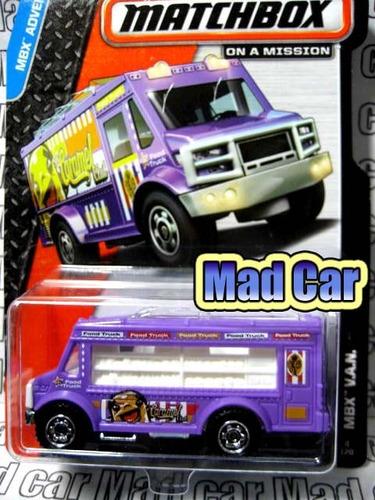 mc mad car matchbox mbx van camion auto 1/64