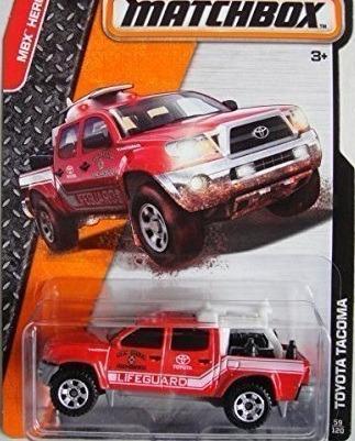 mc mad car matchbox toyota tacoma 1/64 mbx auto coleccion