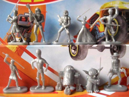 mc mad car muñecos figuras star wars cereal premium anime tv
