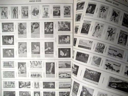 mc mad car postage stamp album estampillas harris pionner