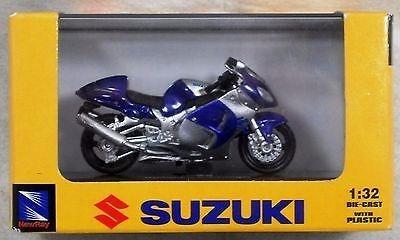 mc mad car suzuki gsx 1300r moto coleccion newray 1/32