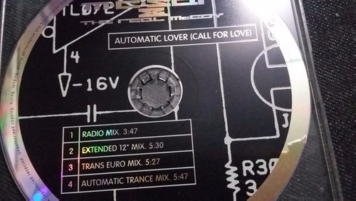 m.c. sar & the real mccoy* automatic lover cd elctronica