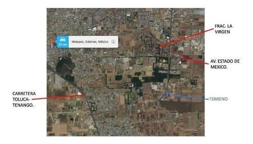 m&c terreno en venta en mayorazgo metepec en estado de méxico