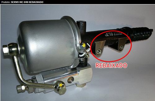 mc040-10c- servo embreagem rebaixado  caminhão vw 8150/9150