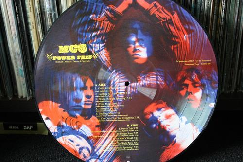 mc5 power trip picture disc raro item lp