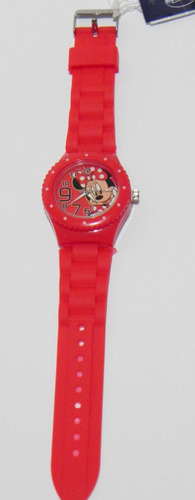 mca. disney mickey mouse / minnie mouse reloj original.