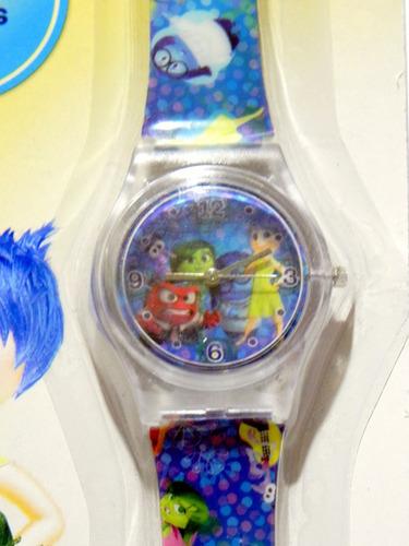 mca. disney pelicula intensamente reloj original nuevo.