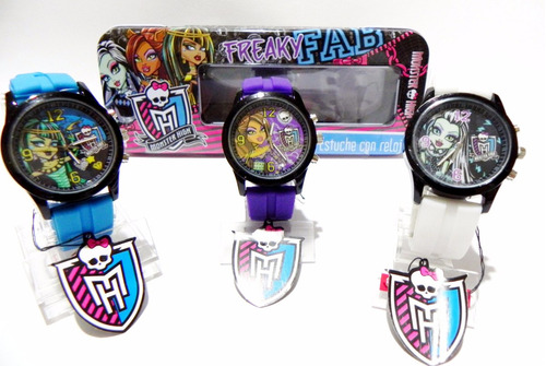 mca. monster high para jovenes,niñas o dama originales