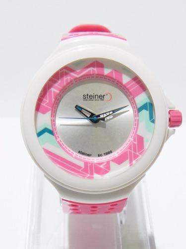 mca steiner reloj deportivo para dama original nuevo.
