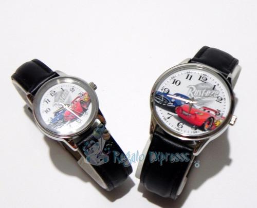 mca.disney cars duo de reloj niño,caballero edi.especial