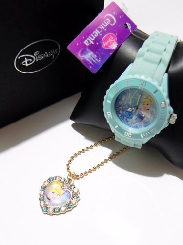 mca.disney reloj de cenicienta colección nuevo y original