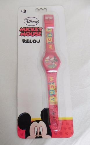 mca.disney reloj mickey mouse para niño