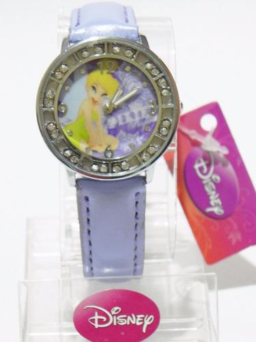 mca.disney reloj tinkerbell / campanita cristales envio gtis