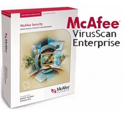 Mcafee Virusscan + Anti-spyware 8 8i - Ativação - Permanente