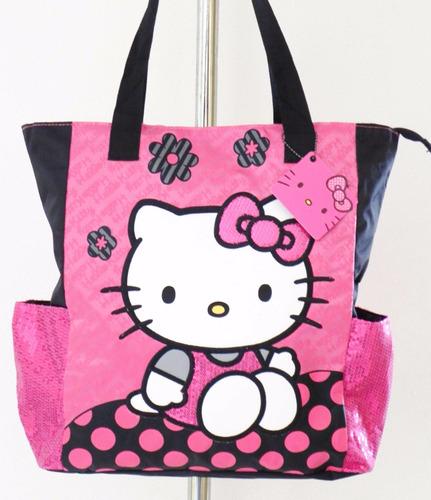 mca.hello kitty by sanrio bolsa tote o mochila envio gratis