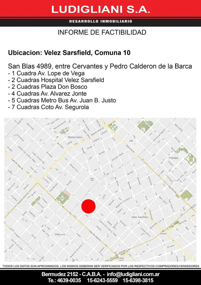 m.castro san blas 4989 lote 8.66x17.00