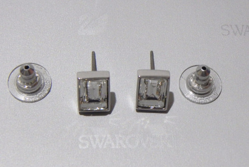 mca.swarovski aretes clasicos modelo 5030678 envio gratis