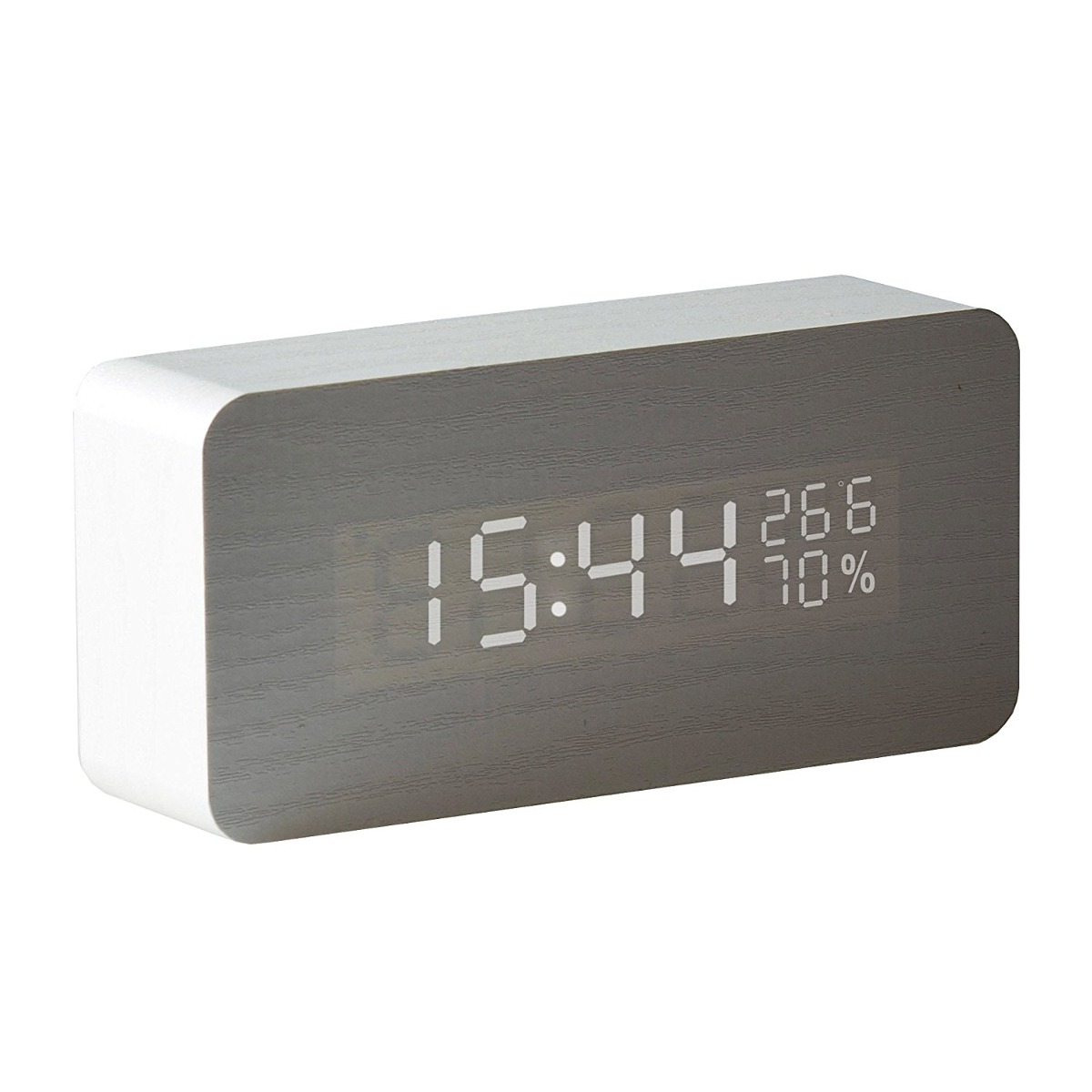 Mini Desk Clock Sound Senso Cargando Zoom