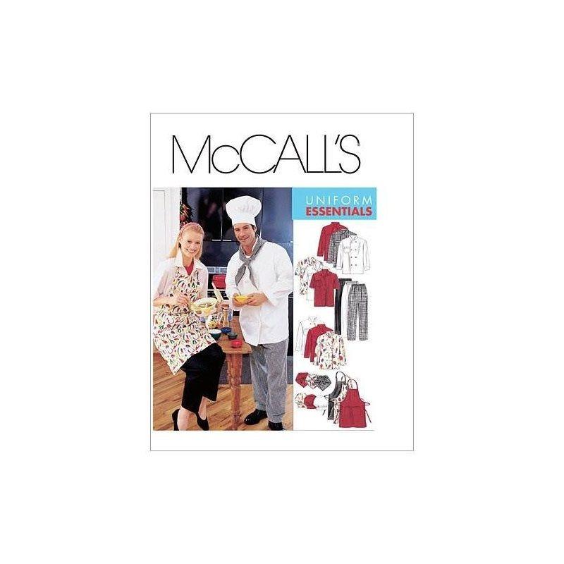 Mccalls Patterns M2233 Misses And Mens Jacket, Camisa, Delan ...