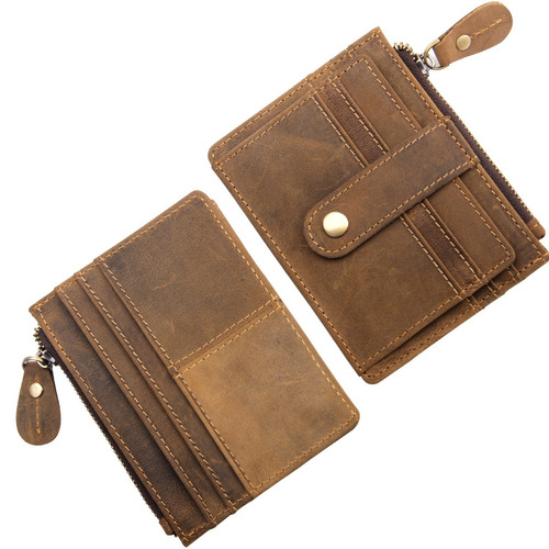 mcdull rfid billetera de bolsillo frontal mini billetera min
