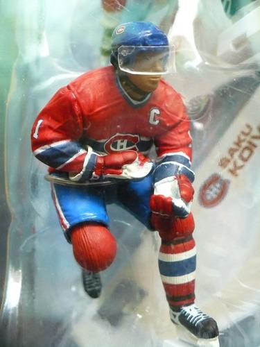 mcfarlane nhl hockey, iginla-koivu, 3  serie 1