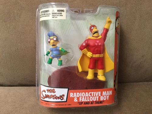 mcfarlane simpson's  radioactive man, fallout boy