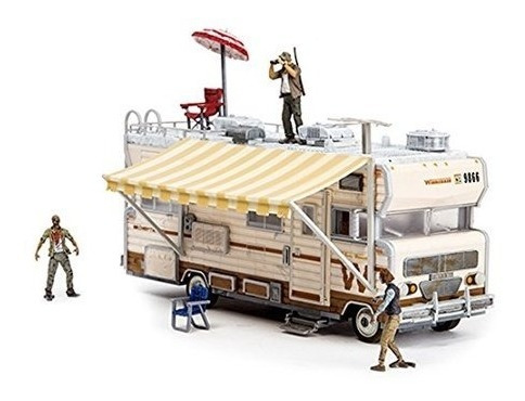 mcfarlane toys construction sets- the walking dead tv conju