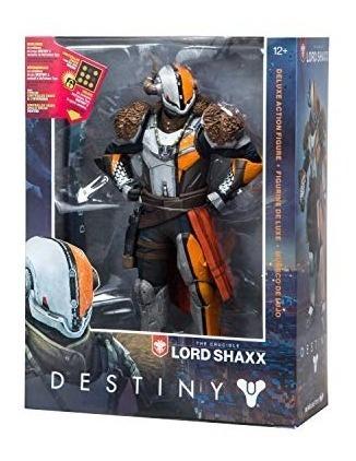 mcfarlane toys destiny señor shaxx 10inch deluxe figura de a