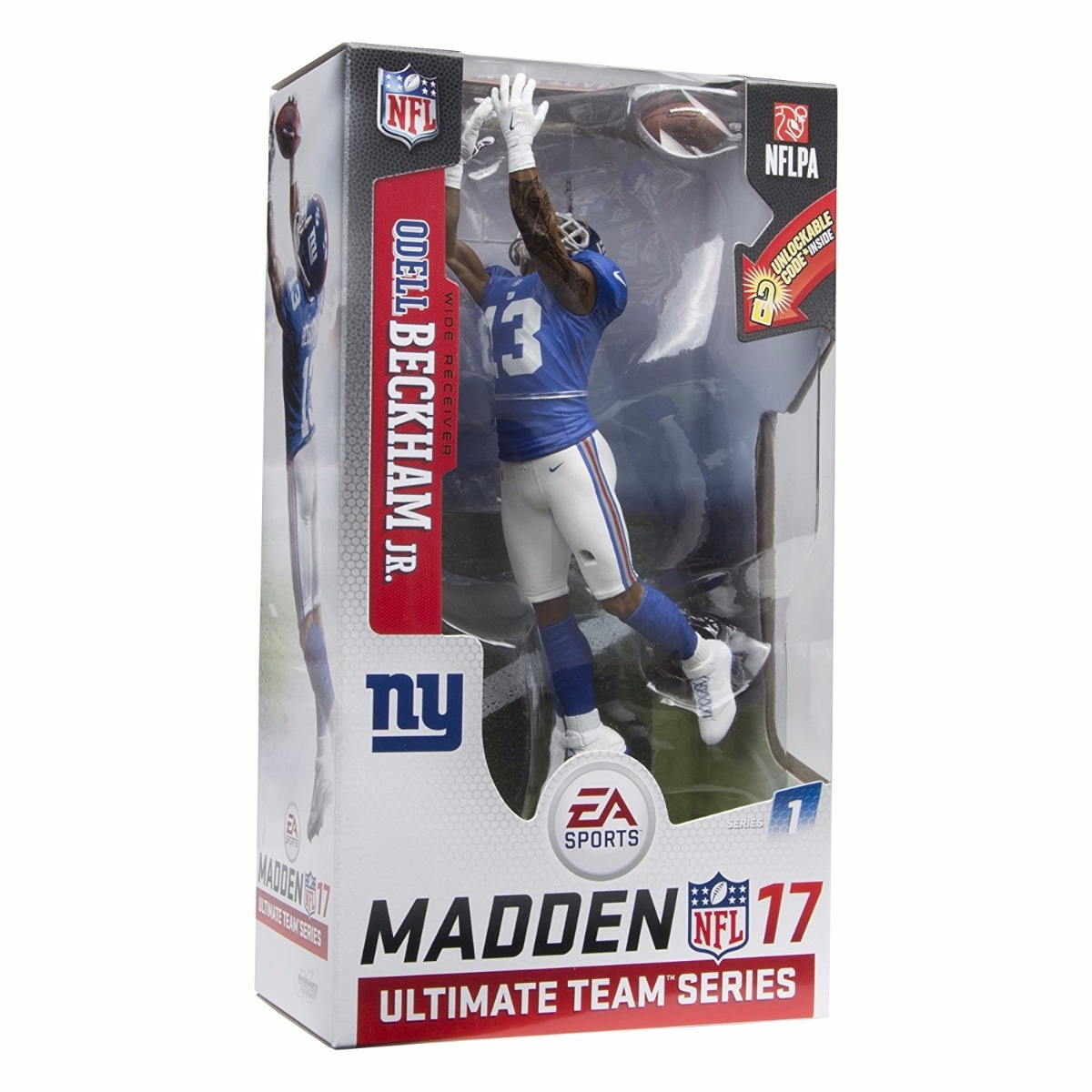 Mcfarlane Toys Ea Sports Madden Nfl 17 Ultimate Team Odell B ... bb98452026f