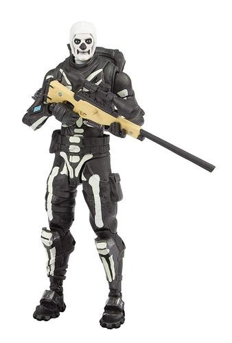 mcfarlane toys - fortnite - skull trooper - 18cm - nuevo!!