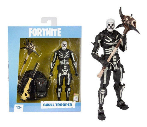 mcfarlane toys fortnite skull trooper premium