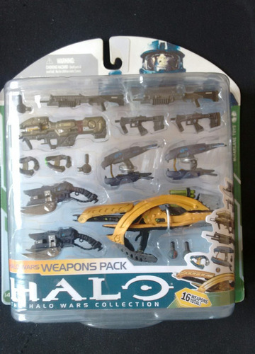 mcfarlane toys halo 3 serie 7 weapon pack - arsenal 2010