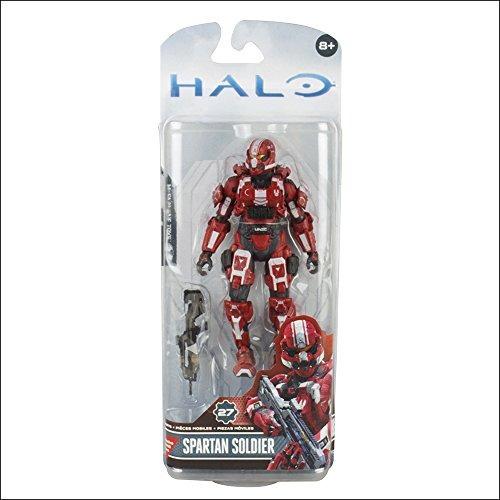 mcfarlane toys halo 4 spartan soldier rojo acton cifra 5 pul