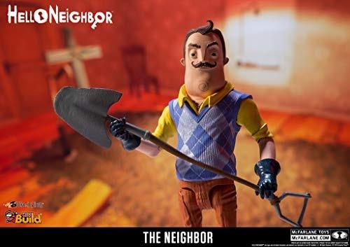 mcfarlane toys hello neighbor la figura de accion del vecino
