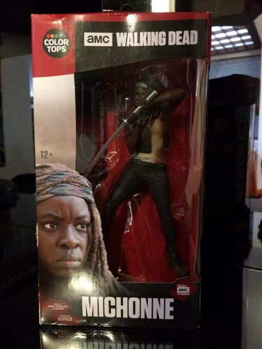 mcfarlane toys the walking dead: michonne
