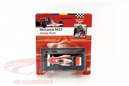 mclaren m23 # 11 1976 f1 james hunt campeon del mundo 1/43