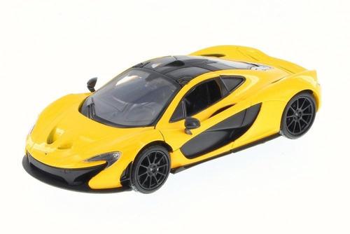 mclaren p1 edicion de luxe amarillo motor max 1:24